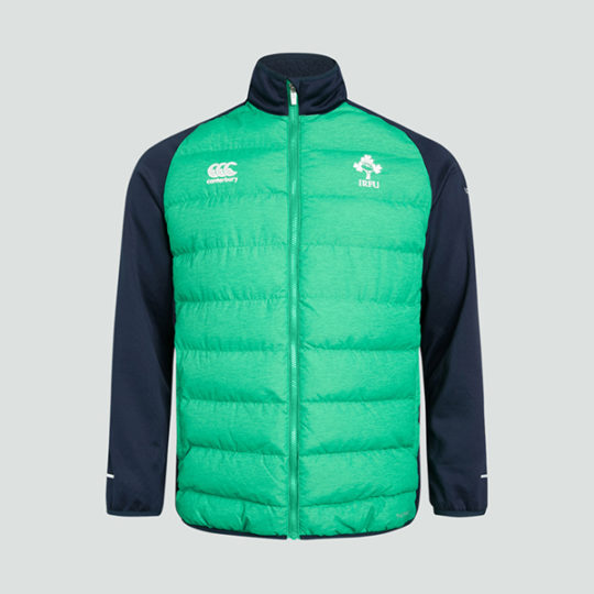 Mens Ireland Rugby Puffer Jacket