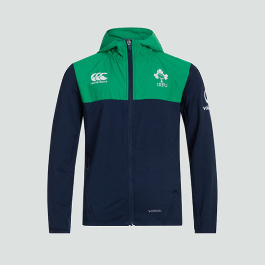 Mens Ireland Rugby Zipper Jacket