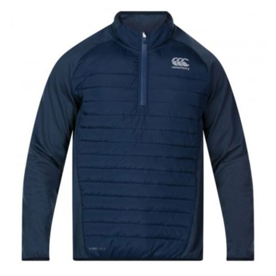 Canterbury quarter zip hybrid 682 navy